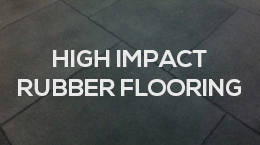 High impact rubber flooring